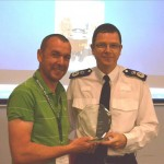 Jeremy Moore, Staffordshire Police and Chief Constable Alex Marshall