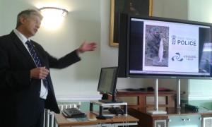 Dilip Sarkar, Angling Trust, presenting